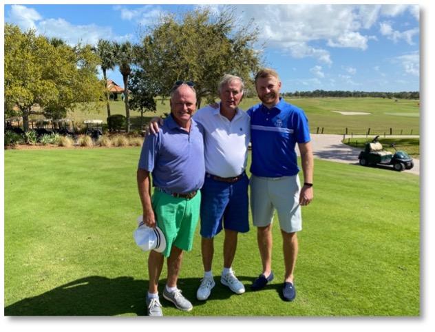 Peter McDonald, Jay Litty & Stephen Walsh