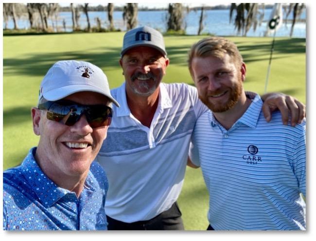Dan Robertson, David Wells & Stephen Walsh