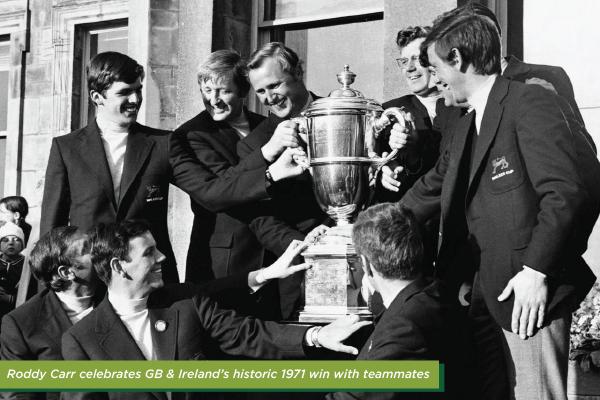 Walker Cup 1971, team Ire & GB