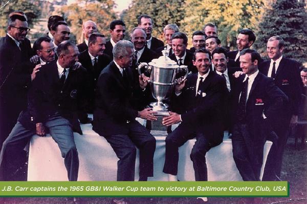 Walker Cup winning team 1965